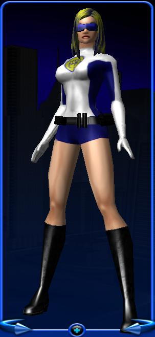 Force Girl Costume Design